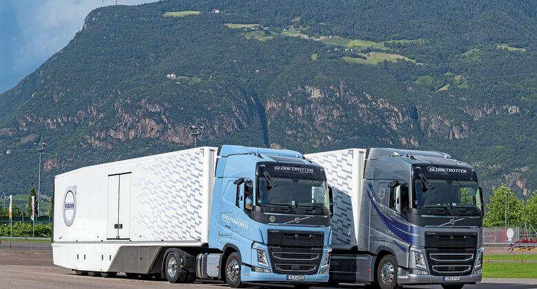 Volvo LNG Diesel Vergleich