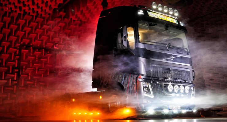 Volvo Trucks, In Flames, Swedish Metal, Volvo FH 16, Sondermodell