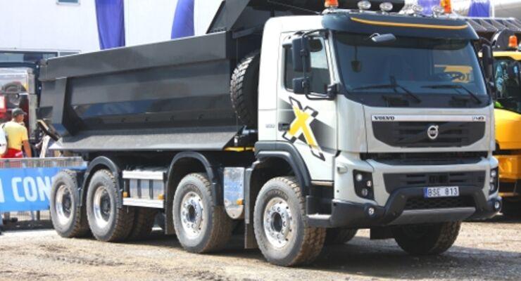 Volvo mit Start des FMX zufrieden