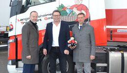 Von links: Dr. Frank Albers (Krone), Manfred Graffe (LTG), Prof. Dirk Engelhardt (BGL)
