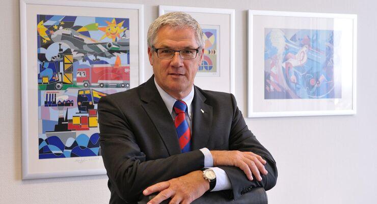 Vorstandsmitglied Schmitz-Cargobull Ulrich Schöpker