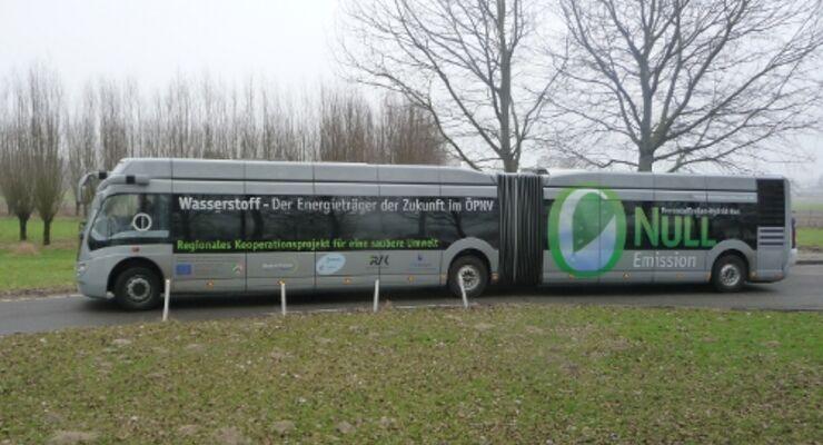 Vossloh Kiepe testet Brennstoffzellen-Bus