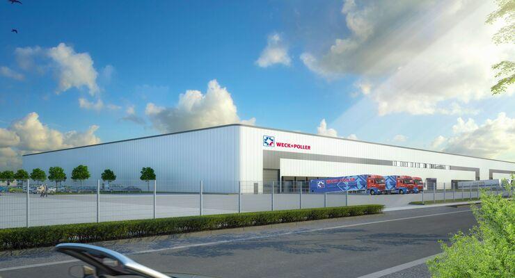 Weck+Poller neues Logistikzentrum Ottendorf