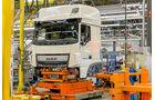 Werksvisite bei DAF, Kabinen für Euro-6-Modelle