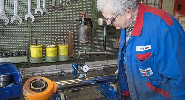 Winkler Hydraulikzylinder-Instandsetzung