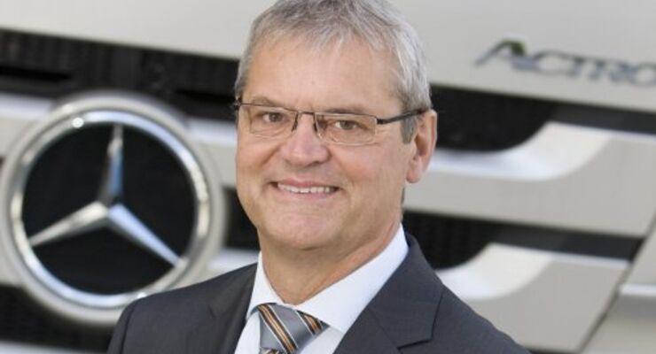 Witzel leitet Lkw-Vertrieb bei Mercedes