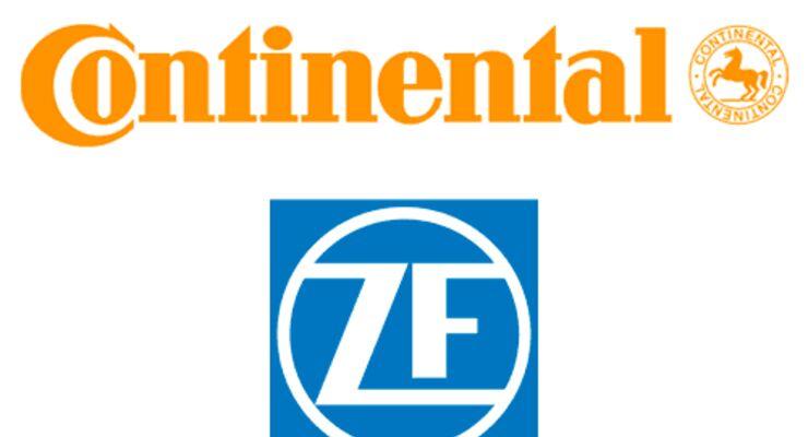 ZF und Continental forcieren Lkw-Hybrid