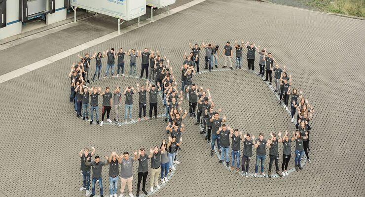 ZUFALL logistics group Ausbildungsstart 2018