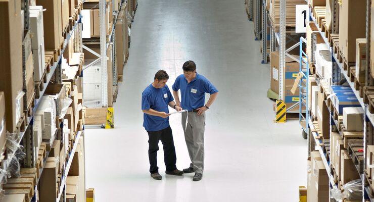 Zufall Logistics, Lagerhalle, Logistik