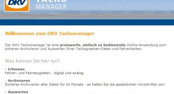 Zusatzmodul für DKV Tachomanager startet
