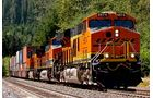 bnsf, Lokomotive, USA, Grand, Canyon, zug, Logistik, schiene