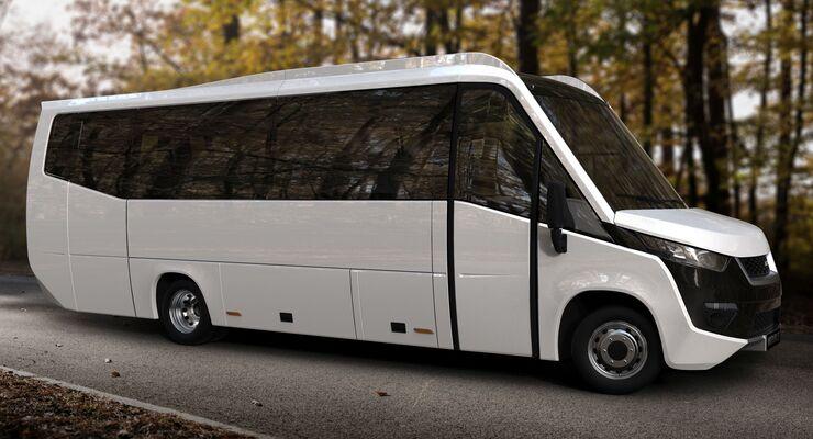 altas pr sentiert neuen midibus viator mit eigenem aufbau. Black Bedroom Furniture Sets. Home Design Ideas