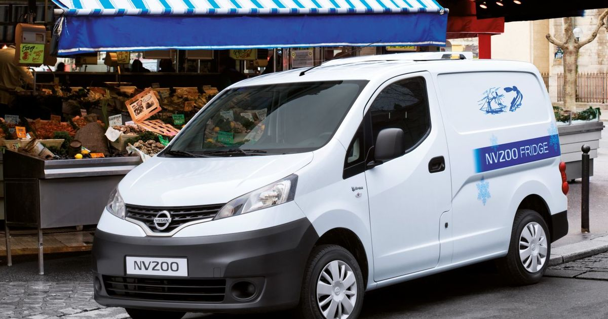 nissan nv200 cool ab werk eurotransport. Black Bedroom Furniture Sets. Home Design Ideas