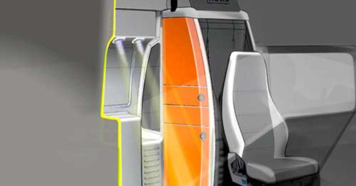 fahrzeuge wohnkabine f r fernverkehrs lkw eurotransport. Black Bedroom Furniture Sets. Home Design Ideas