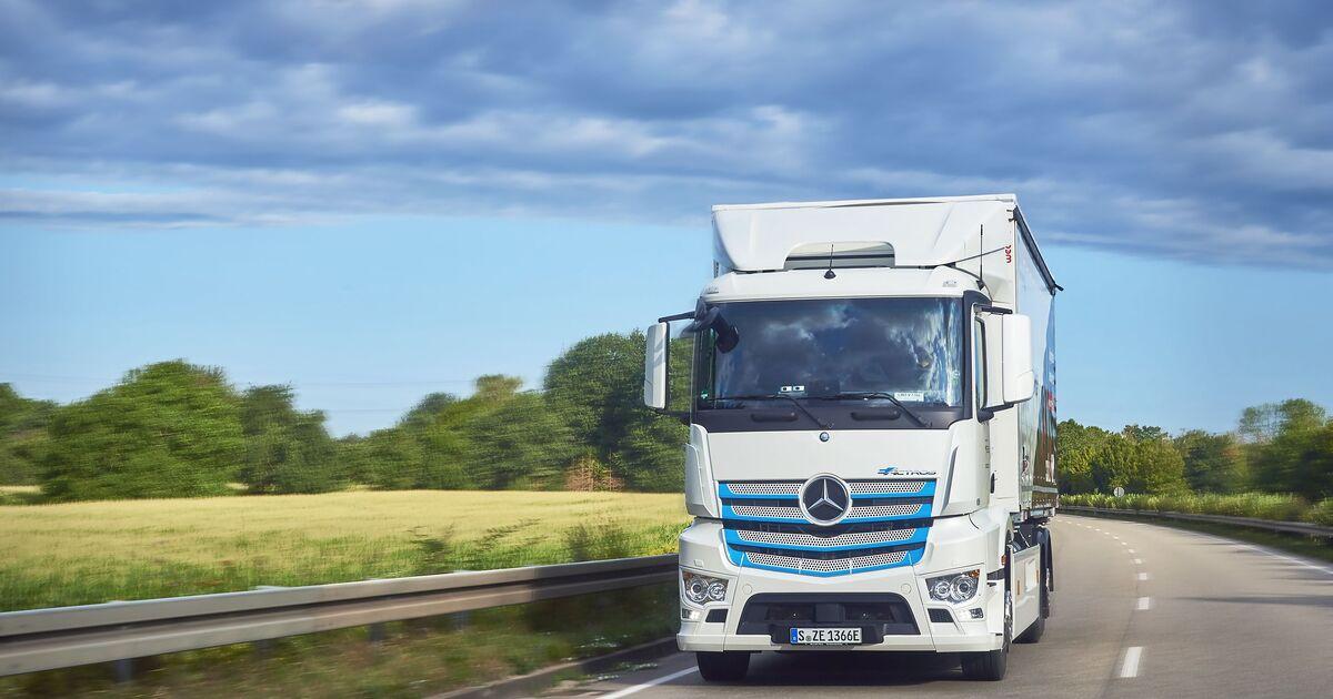 Daimler E-Mobility Group: E-Lkw-Beratung mit neuer App - Eurotransport