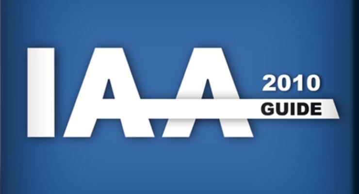 lastauto bringt die IAA-Guide App 2010
