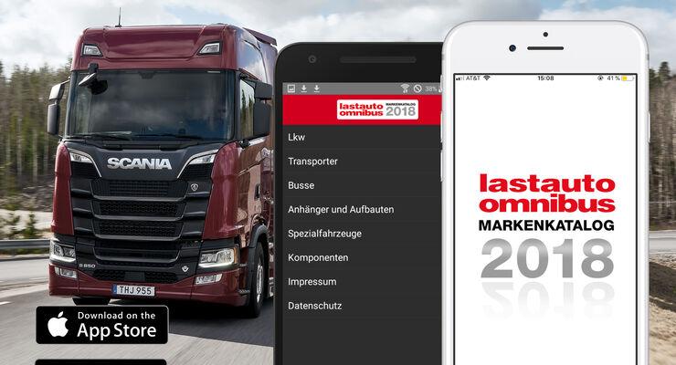 lastauto omnibus Markenkatalog 2018