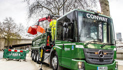 mercedes, benz, econic, conway, london, transport for london, vierachser, sonderfahrzeug, kipper, daimler