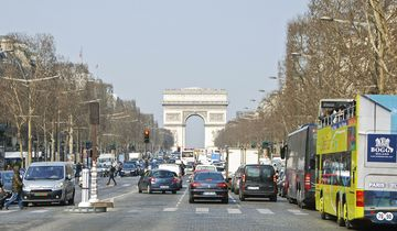 paris, champs-elysees, straße