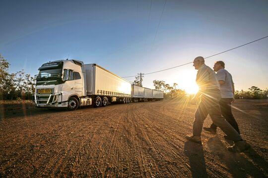 roadtrain, australien, lang-lkw