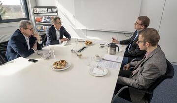 v. li.: Oliver Trost, Armin Hofer, Ralf Lanzinger, Matthias Rathmann