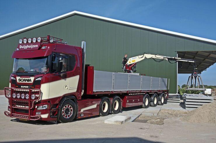 van Diujghuijzen, Supertruck FF 11/2018, Scania S.